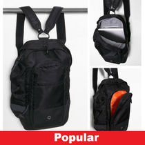 Ron Herman Street Style A4 Plain Backpacks