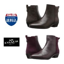 Coach Casual Style Unisex Street Style Plain Leather