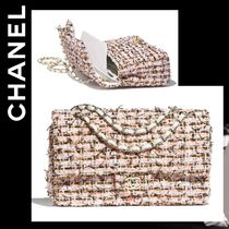 CHANEL ICON Other Check Patterns 2WAY Chain Shoulder Bags
