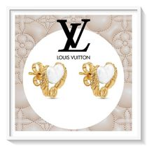 Louis Vuitton Blended Fabrics Elegant Style Earrings & Piercings