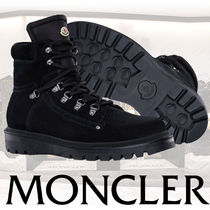 MONCLER Mountain Boots Suede Street Style Plain Outdoor Boots