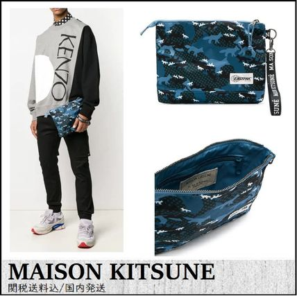Street Style Other Animal Patterns Clutches