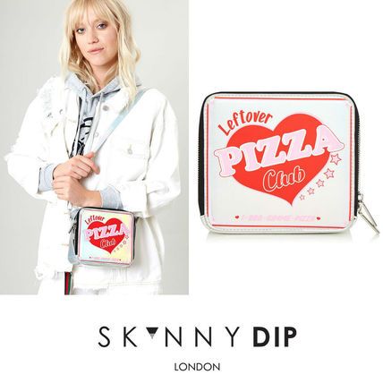 Heart Street Style Party Style PVC Clothing Shoulder Bags