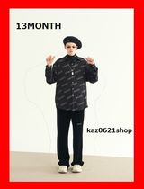 13MONTH Casual Style Long Sleeves Medium Shirts & Blouses