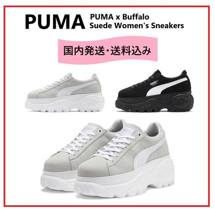 3ff6dc6958d1 ... Sneakers 17 PUMA Platform   Wedge Platform Lace-up Suede Platform    Wedge ...