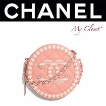 CHANEL MATELASSE Calfskin Street Style 2WAY Bi-color Chain Party Style