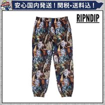 RIPNDIP Printed Pants Unisex Street Style Oversized Patterned Pants