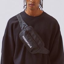 FEAR OF GOD ESSENTIALS Unisex Nylon Street Style Plain Hip Packs