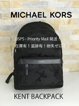 Michael Kors KENT Nylon A4 Backpacks