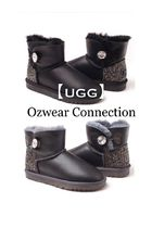 Ozwear Connection Casual Style Fur Plain Boots Boots