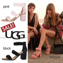 UGG Australia Plain Party Style Heeled Sandals