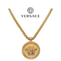 VERSACE Street Style Chain Metal Necklaces & Chokers