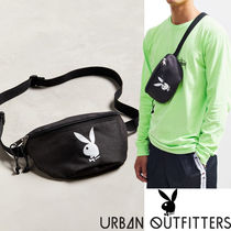 Urban Outfitters Unisex Street Style Collaboration 2WAY Plain Hip Packs