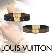 Louis Vuitton MONOGRAM Costume Jewelry Blended Fabrics Studded With Jewels