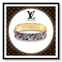 Louis Vuitton Blended Fabrics Animal Elegant Style Bracelets