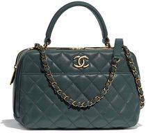 CHANEL 2WAY Chain Plain Boston & Duffles