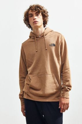 THE NORTH FACE Hoodies Pullovers Unisex Street Style Long Sleeves Plain Hoodies 2