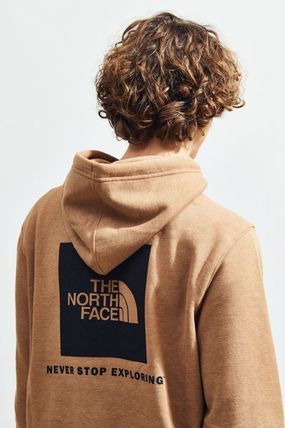 THE NORTH FACE Hoodies Pullovers Unisex Street Style Long Sleeves Plain Hoodies 3