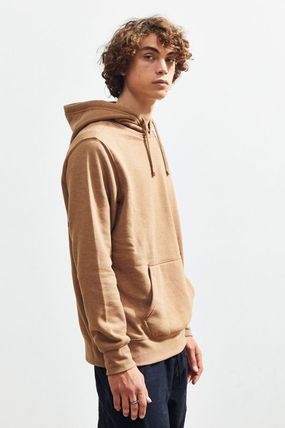 THE NORTH FACE Hoodies Pullovers Unisex Street Style Long Sleeves Plain Hoodies 4