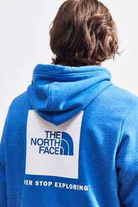 THE NORTH FACE Hoodies Pullovers Unisex Street Style Long Sleeves Plain Hoodies 5