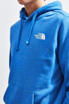 THE NORTH FACE Hoodies Pullovers Unisex Street Style Long Sleeves Plain Hoodies 7