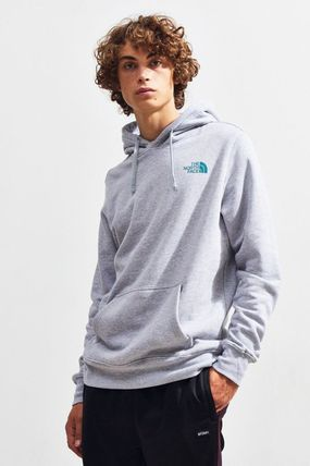 THE NORTH FACE Hoodies Pullovers Unisex Street Style Long Sleeves Plain Hoodies 11