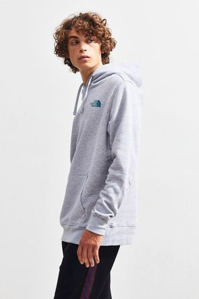 THE NORTH FACE Hoodies Pullovers Unisex Street Style Long Sleeves Plain Hoodies 12