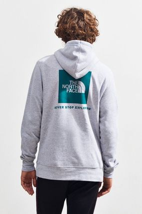 THE NORTH FACE Hoodies Pullovers Unisex Street Style Long Sleeves Plain Hoodies 13