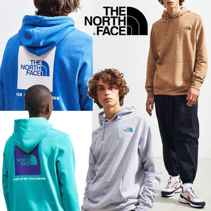 THE NORTH FACE Hoodies Pullovers Unisex Street Style Long Sleeves Plain Hoodies