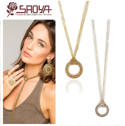 Costume Jewelry Elegant Style Necklaces & Pendants