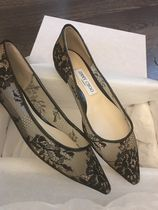Jimmy Choo Party Style Elegant Style Formal Style  Pointed Toe Shoes