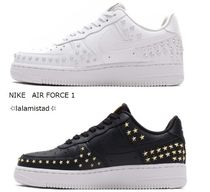 Nike AIR FORCE 1 Star Casual Style With Jewels Low-Top Sneakers
