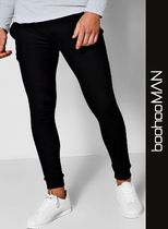 boohoo Sweat Street Style Men Skinny Pants