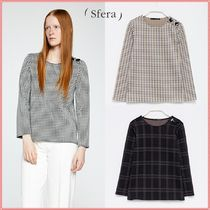 Sfera Other Check Patterns Casual Style Shirts & Blouses