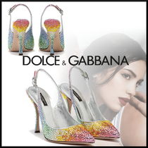 Dolce & Gabbana Pin Heels With Jewels Elegant Style