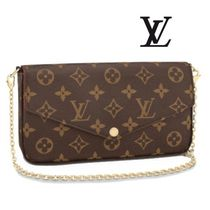 Louis Vuitton Monogram Casual Style 2WAY Party Bags