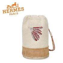 HERMES Petit Fringes Kids Girl Bags