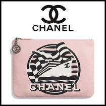 CHANEL Canvas Clutches
