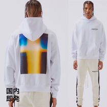 FEAR OF GOD ESSENTIALS Street Style Collaboration Long Sleeves Cotton Hoodies