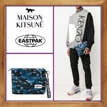 MAISON KITSUNE Nylon 2WAY Other Animal Patterns Clutches