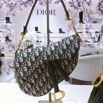 Christian Dior Canvas Shoulder Bags