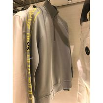 Louis Vuitton Blended Fabrics Street Style Bi-color Long Sleeves Plain
