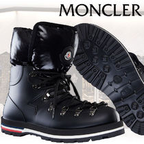 MONCLER Mountain Boots Rubber Sole Casual Style Blended Fabrics