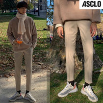 ASCLO Slax Pants Street Style Collaboration Slacks Pants