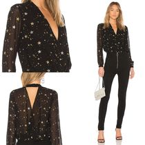 Lovers&Friends Star Casual Style Long Sleeves Medium Shirts & Blouses