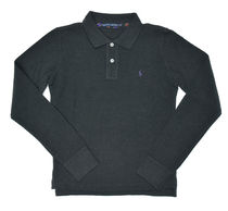 POLO RALPH LAUREN Long Sleeves Plain Cotton Medium Polo Shirts