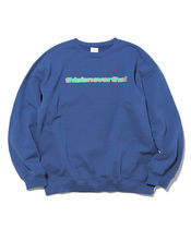 thisisneverthat Crew Neck Unisex Street Style Long Sleeves Plain Cotton