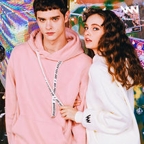 WV PROJECT Pullovers Unisex Street Style Long Sleeves Cotton Hoodies