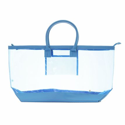 Casual Style A4 Plain Crystal Clear Bags PVC Clothing Co-ord