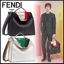FENDI PEEKABOO A4 2WAY Leather Business & Briefcases